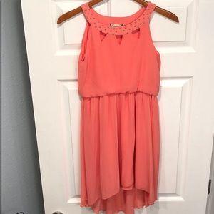 Coral Pink Dress 💖